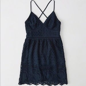 Abercrombie & Fitch Eyelet Lace Dress